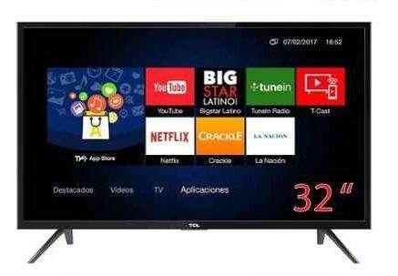 Tv Smart 32 Tcl L32s62s 2018 Hd 1080