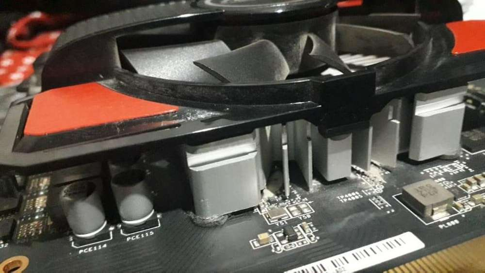 Tarjeta gráfica AMD Asus Radeon Rx 550 2gb DDR5