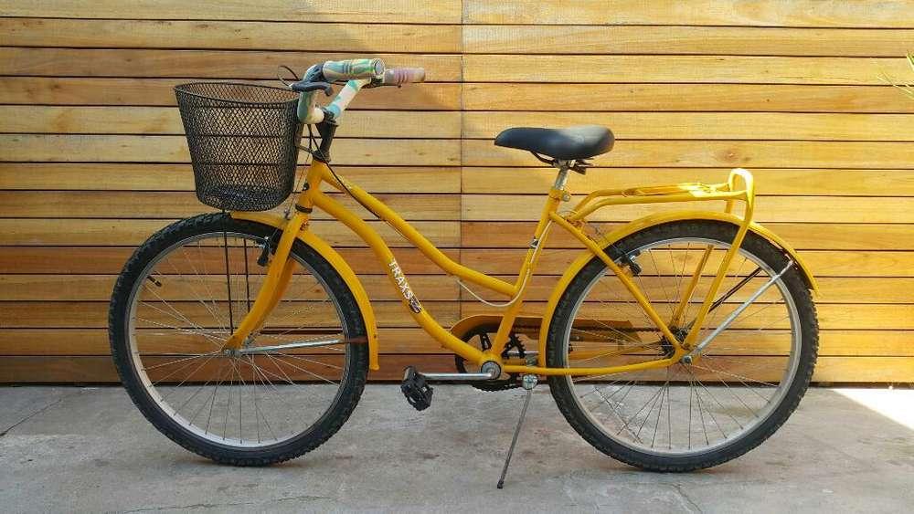 Bicicleta Paseo Dama R26, Camaras Nuevas