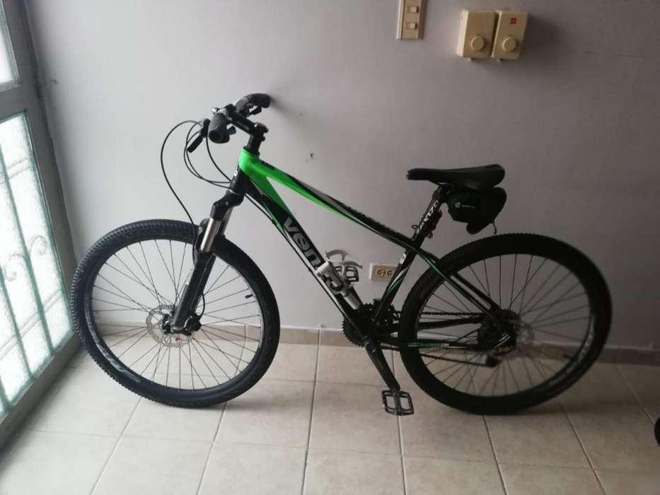 Vendo Bicicleta Venzo, Usada