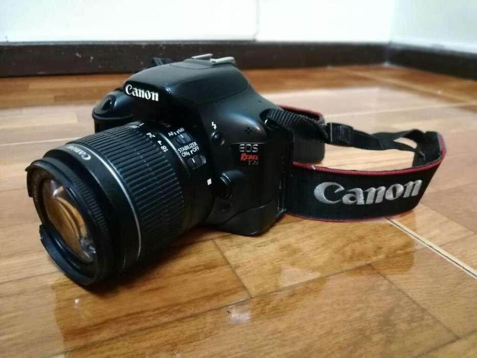 Camara Canon Eos Rebelde T2i