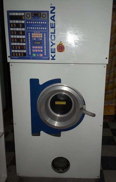maquina industrial tintoreria lavadora a seco marca keyclean