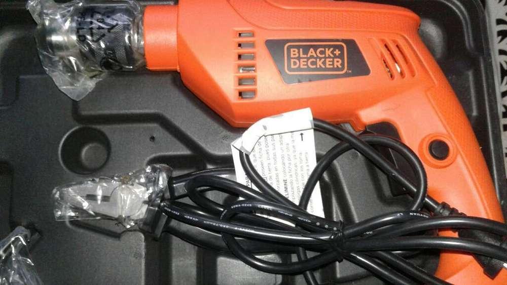 Taladro Percutor 13mm Black Y Decker