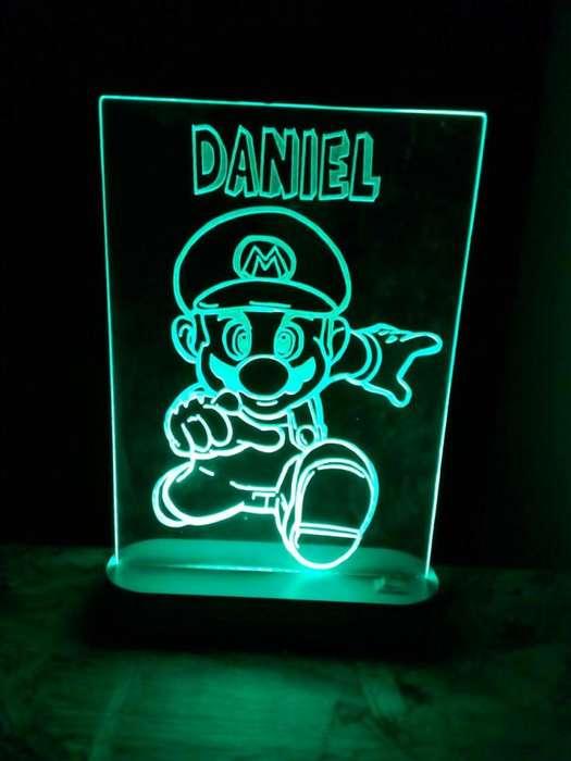 Lámpara led mario bros modelo 2