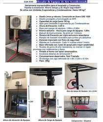 Elevador Aire Acondicionado, Split, Piso Techo Condensadoras