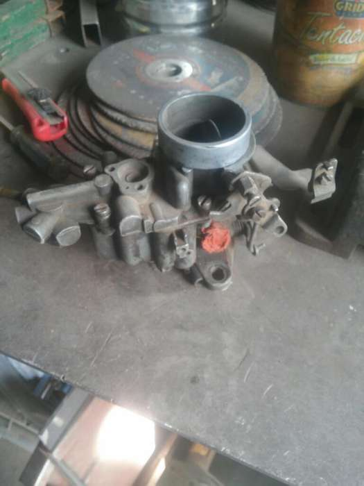 Vendo Carburador Weber