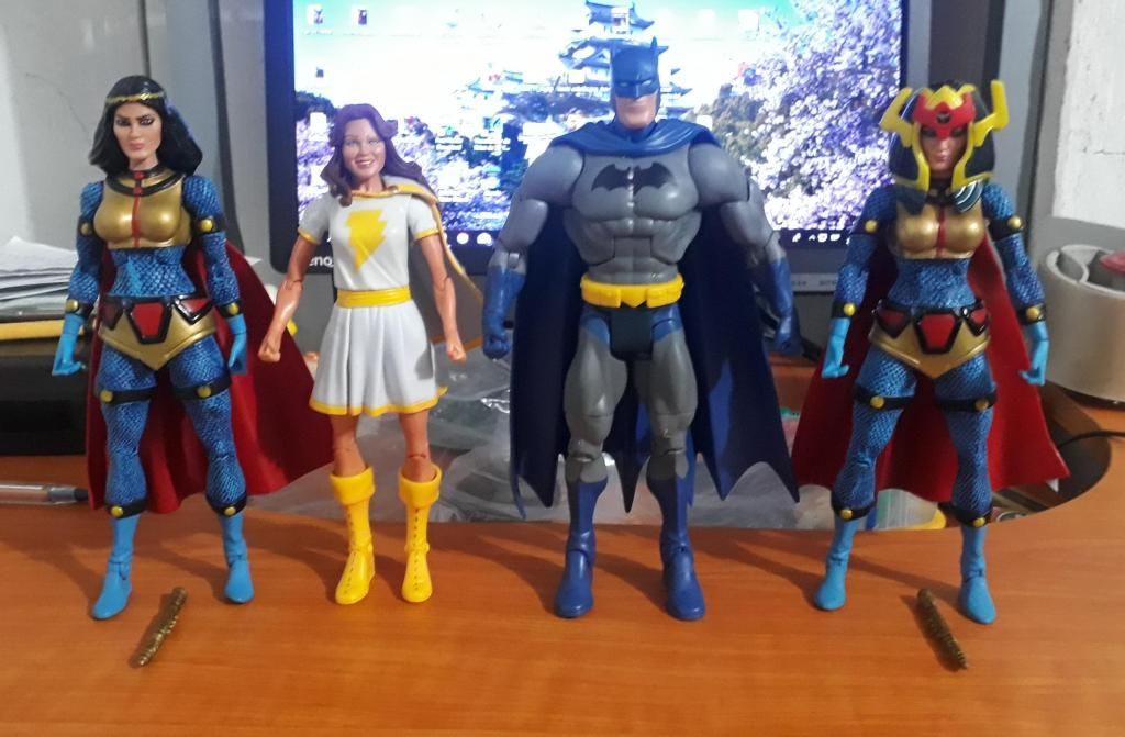 Figuras Dc Universe Mattel heman marvel legends star wars motu multiverse