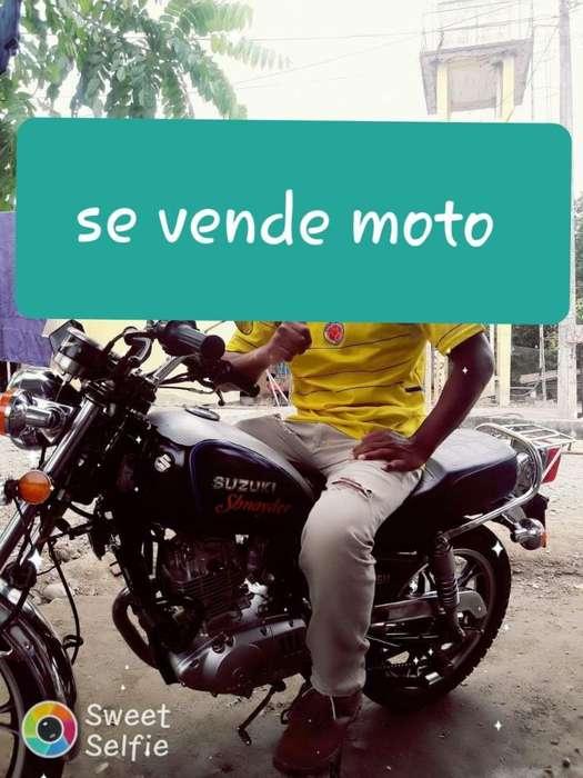 Vendo Moto Suzuki Al Dia Como <strong>nueva</strong>