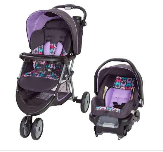Coche y silla de carro COMBO (Baby Trend Ez Ride 35, Sophia)