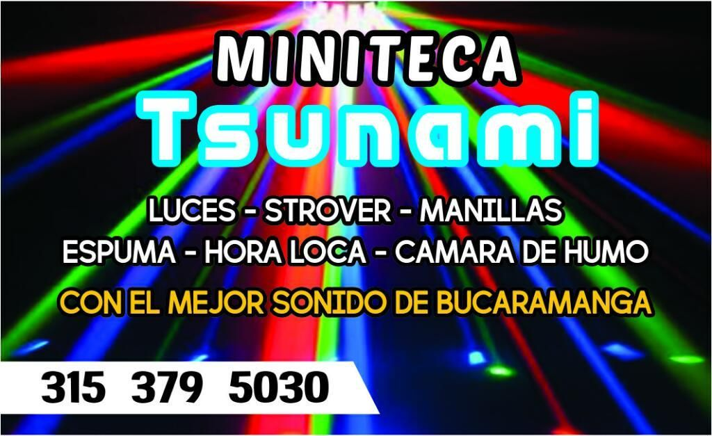 Alquiler de Minitecas Bucaramanga