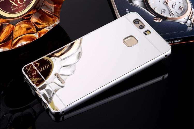 Carcasa En Aluminio Para Huawei P10 Estuche Protector Espejo