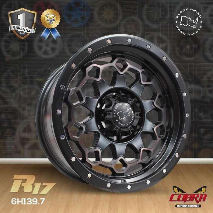 Aros Rin 17 Camionetas Luv Dmax Toyota Hilux Mazda Bt50 f