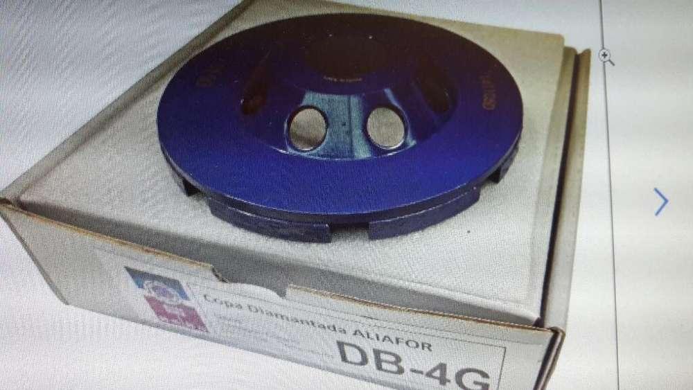 Disco Muela Copa Diamantada Aliafor Db-4