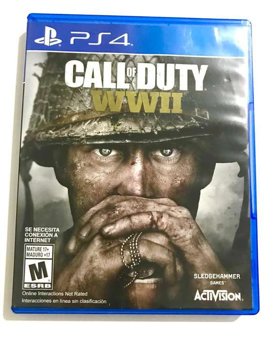 Venta video juego CALL of DUTY WWII PS4
