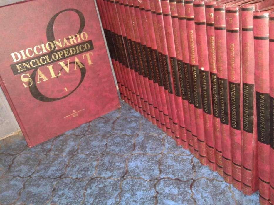 Vendo enciclopedia de diccionarios Salvat 26 tomos