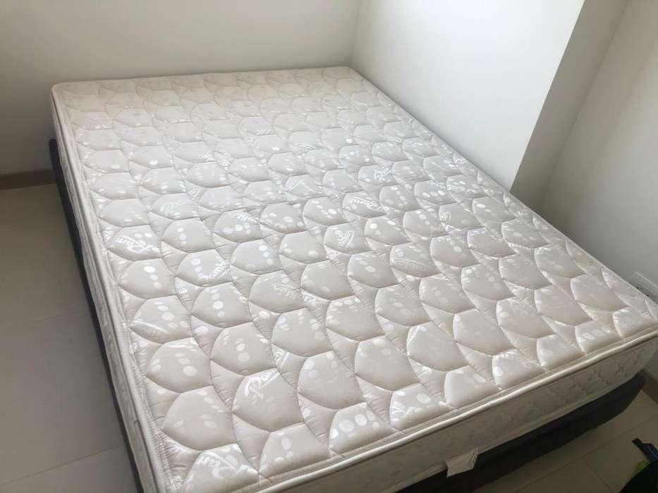 Venta de Base cama y colchon doble