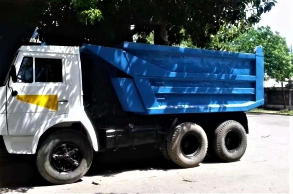 Camion Kamaz Tatu Volcador Impecable