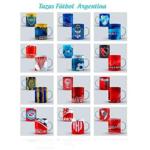 Tazas de Boca River Talleres Belgrano