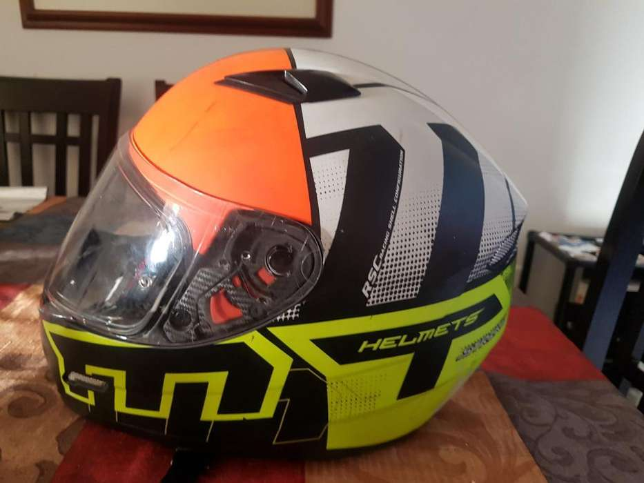 Casco Mt Helmets Talla M Usado