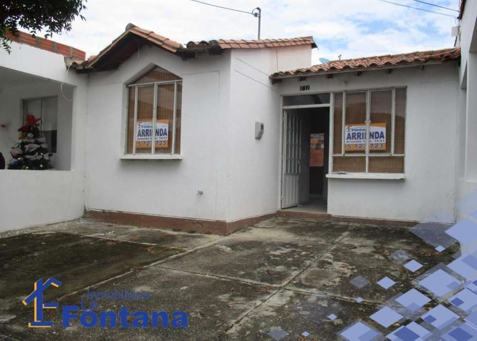 Cod: 2554 Arriendo Casa en el Conjuno Cerrado Santillana, Barrio Bocono