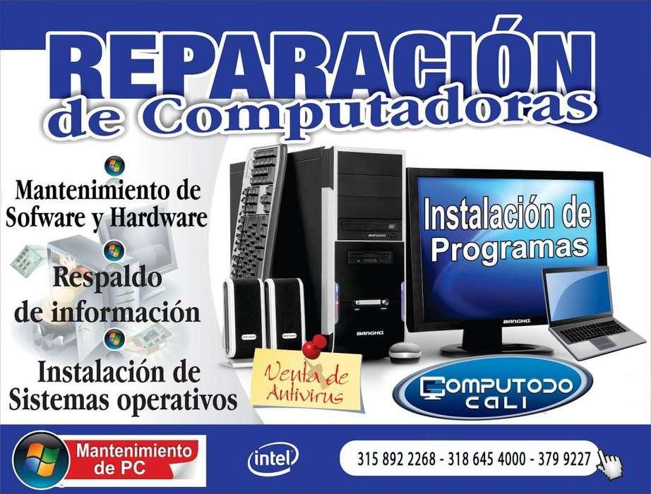 Reparacion maxima de computadora con respaldo de información