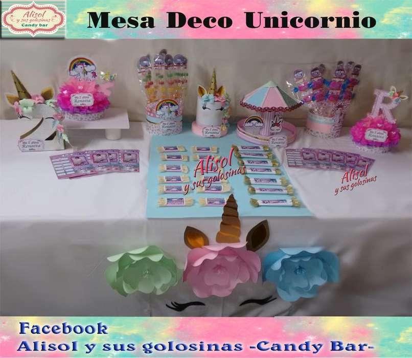 En -Alisol y sus Golosinas Candy Bar-