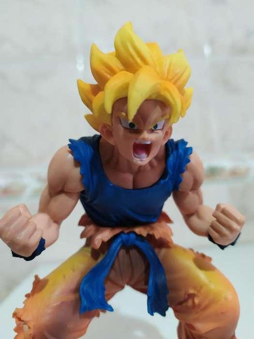Goku Ssj2 Dragon Ball Z Muñeco Nuevo