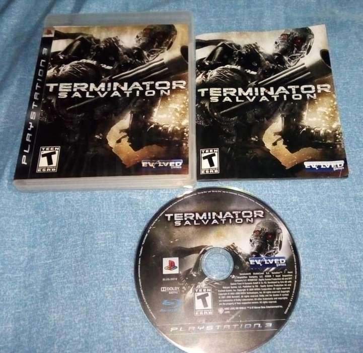 Terminator Salvation- 30 Soles Entregas por el Callao o a coordinar