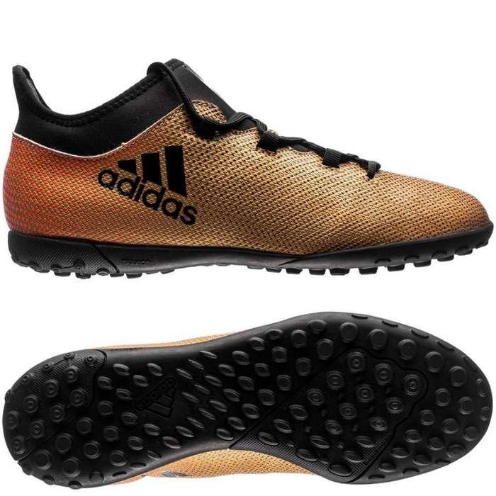Guayos Adidas X Tango 17.3 Tf Gold Tallas 8 y 8.5 US