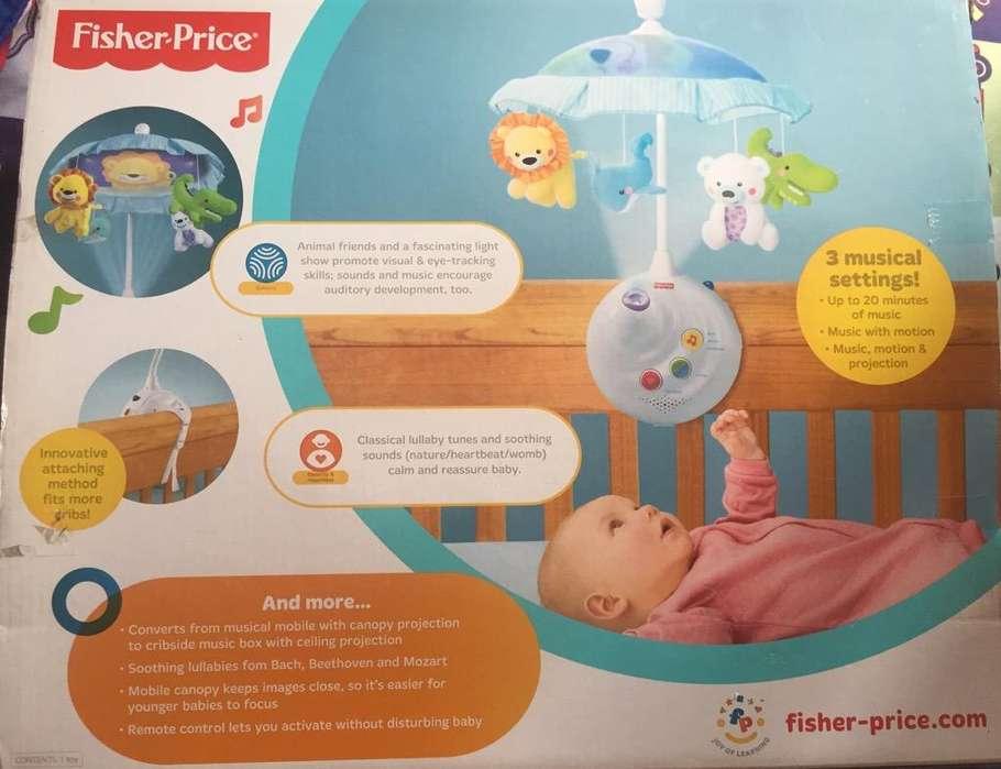 Móvil Bebé Proyector Fisher Price