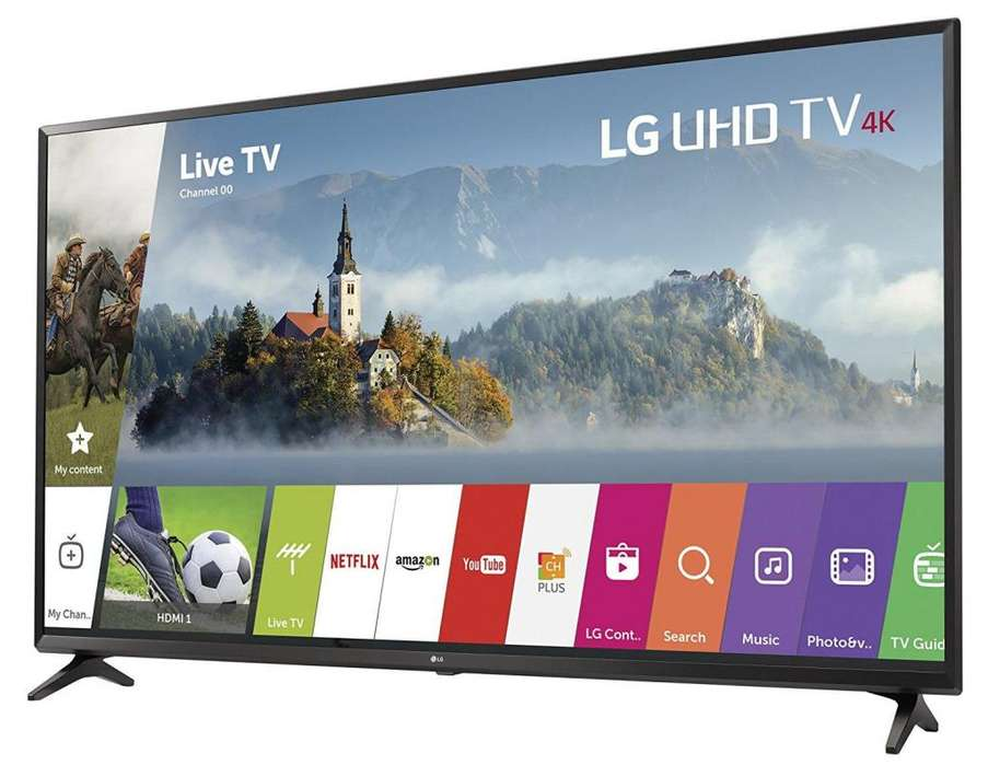 SUPER TELEVISOR LG 49UJ6300 49 IPS 4K SMART WEB OS 3.5 HDR TDT USB WIFI ETC. GARANTIA BOLETA LOCAL DELIVERY SEGURIDAD