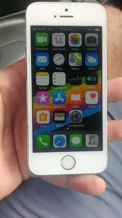 iPhone 5s de 16gb Libre de Todo