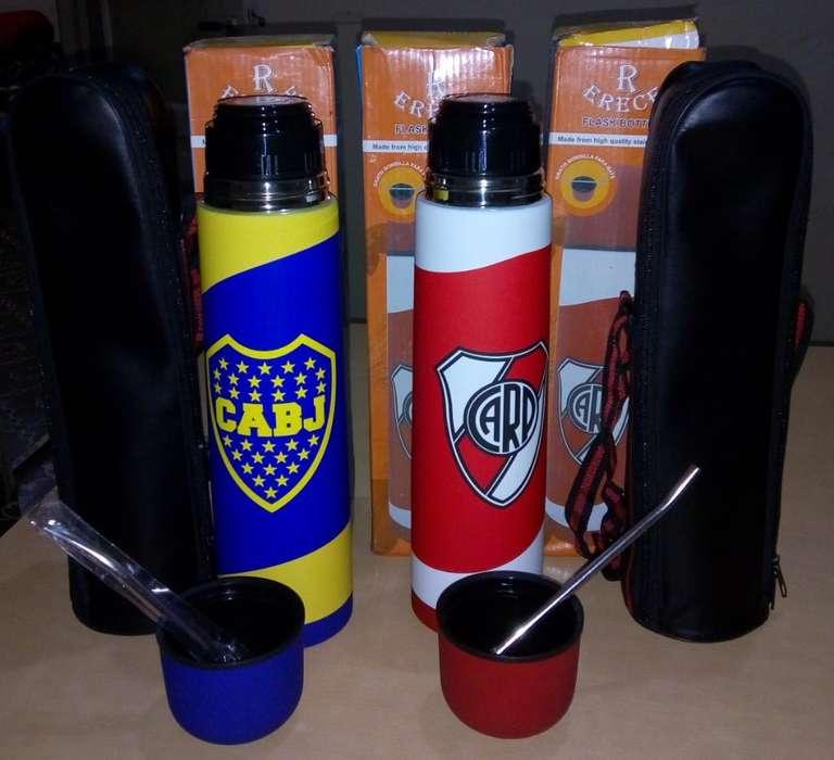 Termos con Funda Y <strong>bombilla</strong>