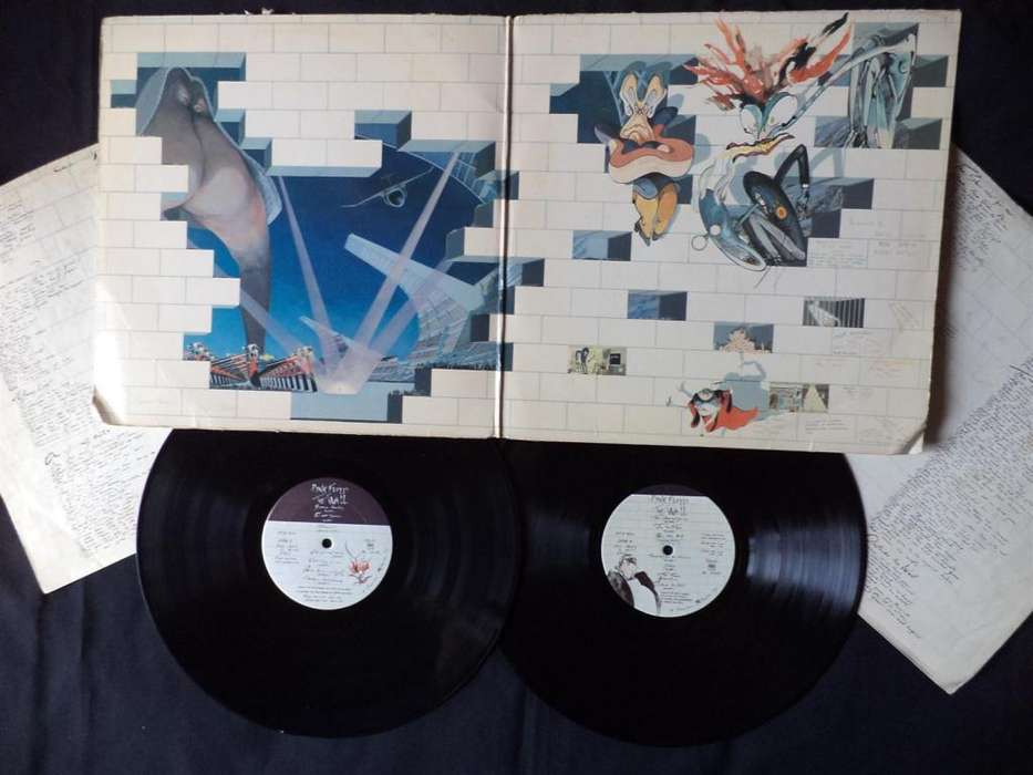 PINK FLOYD - THE WALL PRIMERA EDICIÓN US 1979 2 Vinyl, Columbia