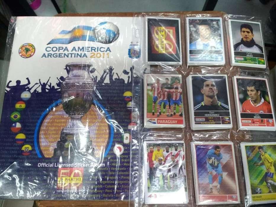 Album Copa América Argentina 2011 Panini
