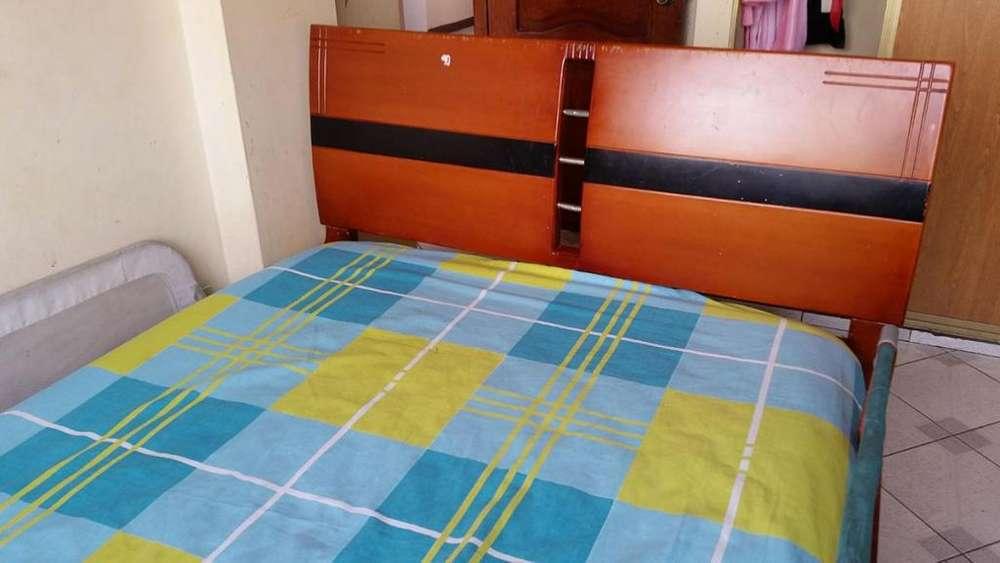 Vendo Cama de 2 plazas con colchón