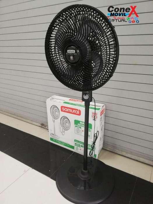 Adquiere tu Ventilador SAMURAI AIRPROTECT MAX 16 2 en 1