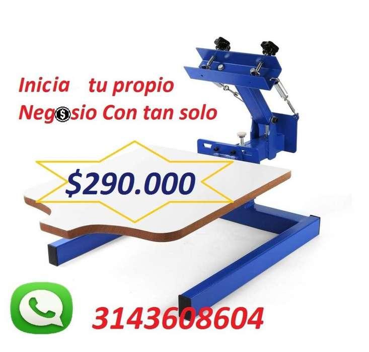 Pulpos para serigrfia desde 245.000 pesos