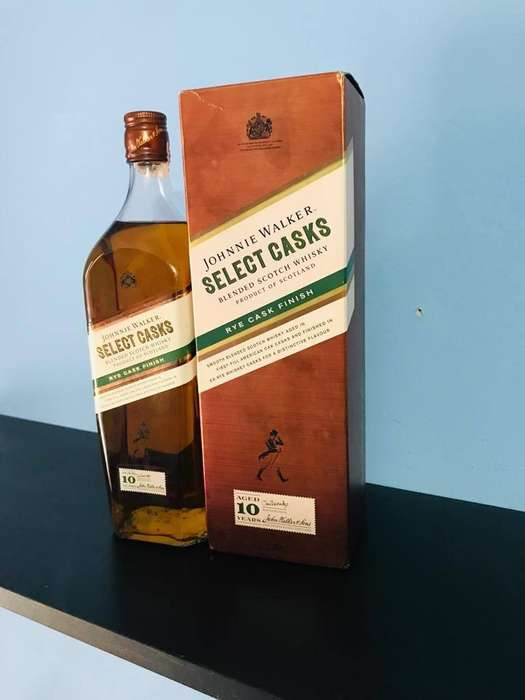 Whisky Jhonny Walker Green Select casks 1 litro 10 años