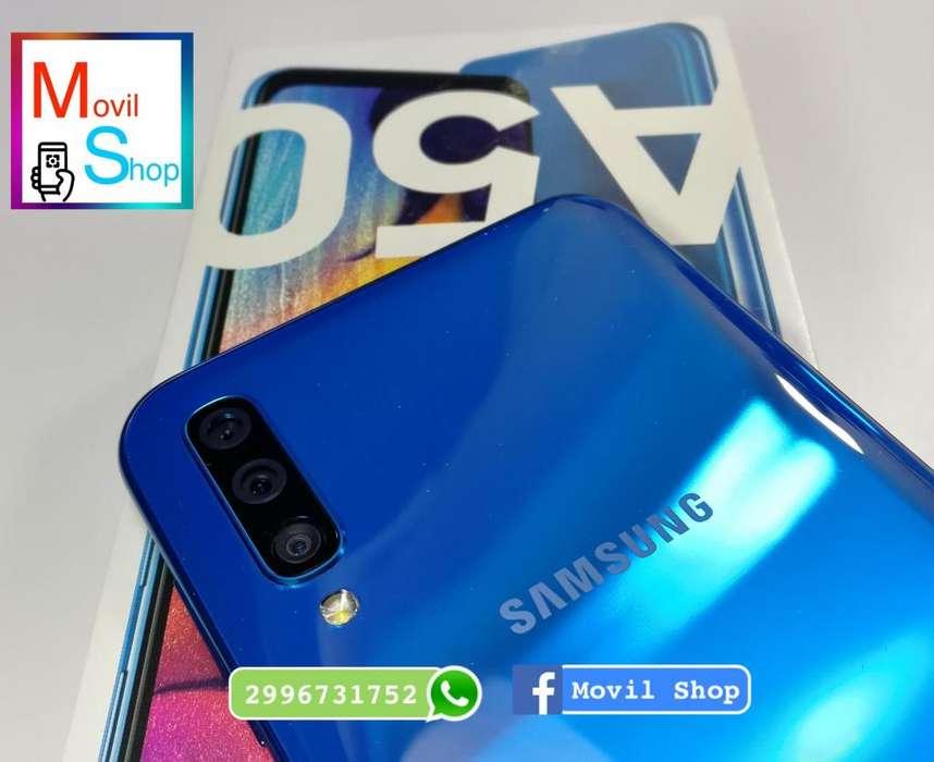 samsung A50 nuevo libre 64gb triple <strong>camara</strong>