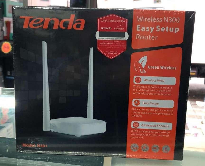 Router Tenda 2 Antenas N300