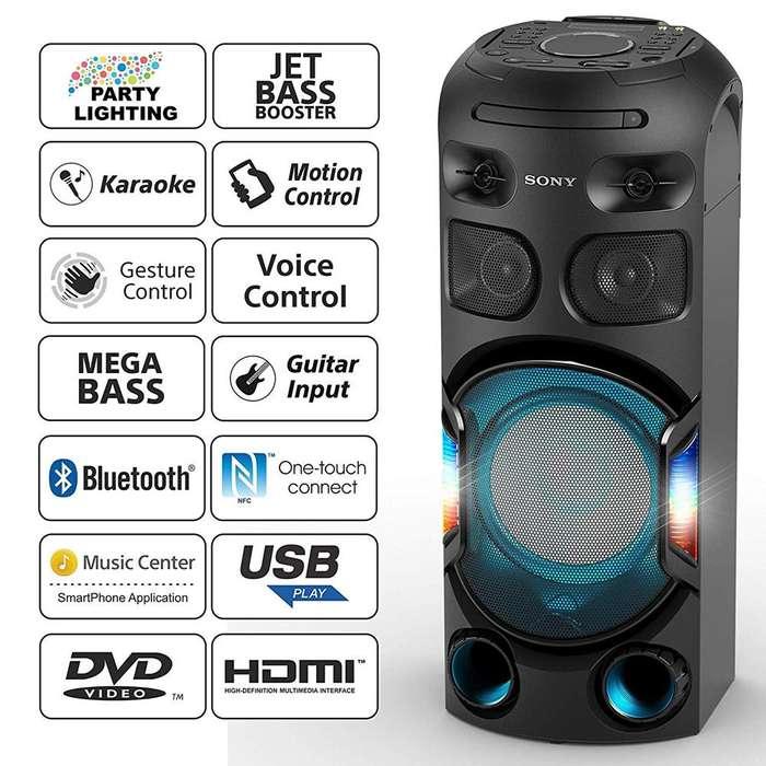 Sony Minicomponente Con Tecnología Bluetooth Mhc-v42d Nuevo en tienda con garantia