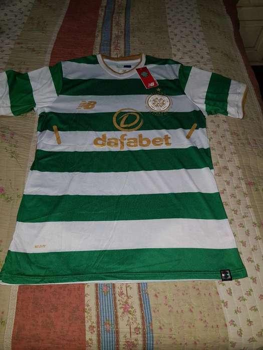 Camiseta Original Celtic New Balance Xl