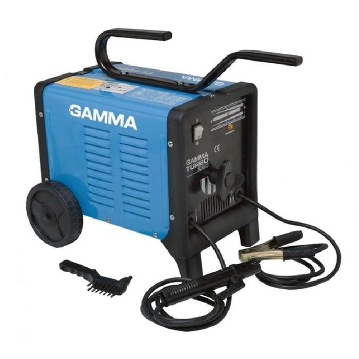 Soldadora Electrica Gamma Turbo 220 Maquina Soldar Electrodo