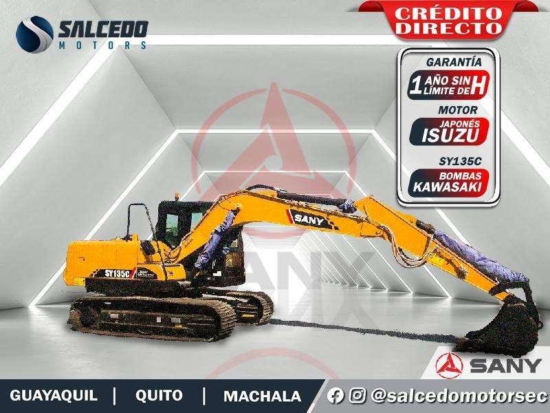 EXCAVADORA SANY SY135C