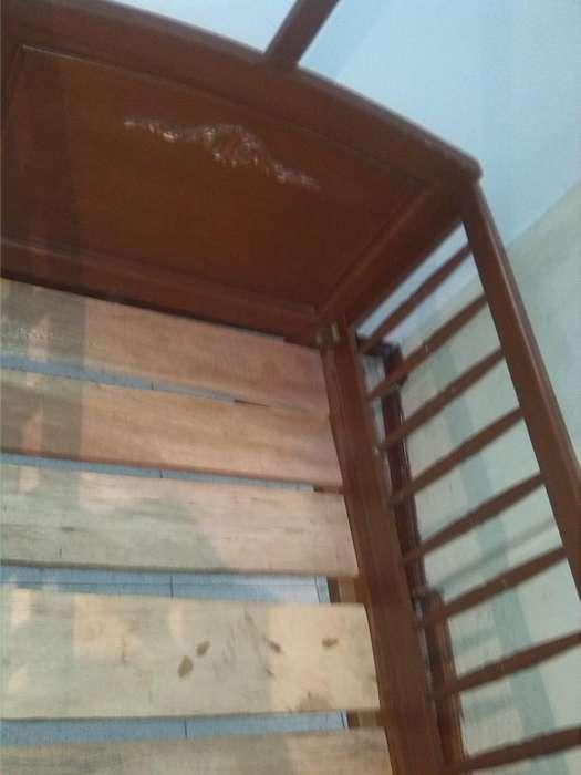 cama <strong>cuna</strong> en madera