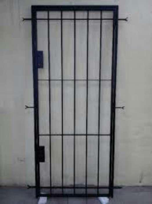 Puertas Rejas Hierro