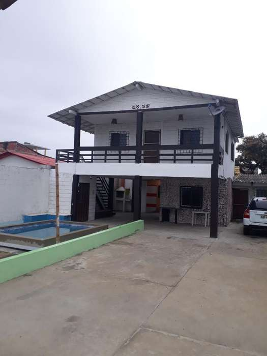 Alquilo Casa Amoblada en General Villamil Playas