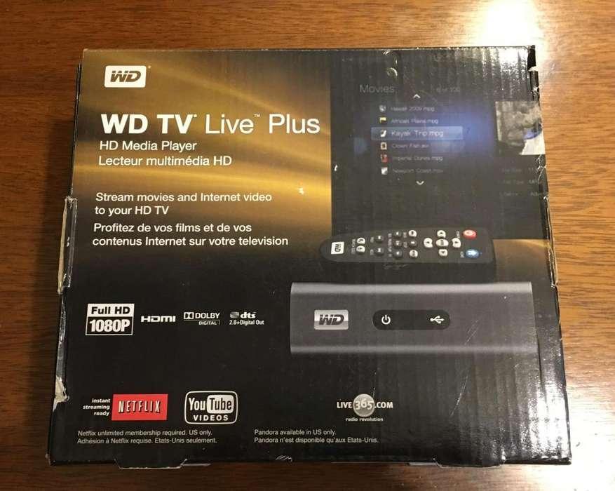 Reproductor Multimedia Western Digital Wdtv Live Plus (lea la Descripcion!!!)