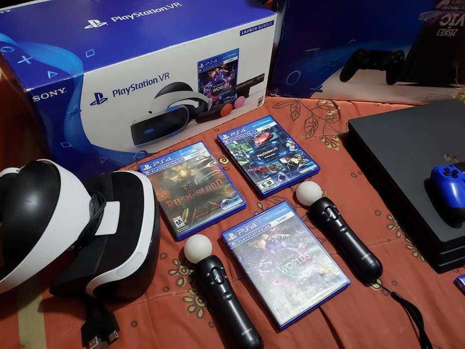 VENDO PERMUTO PLAY 4 PRO Y PLAYSTATION VR